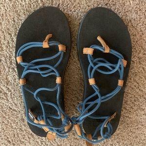 Teva sandals size 7, never worn